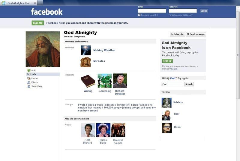 GodsFacebook